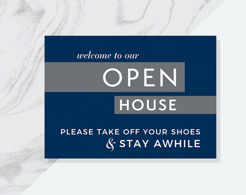 Coldwell Banker Branded 4 Real Estate Welcome to Our Open House Printables Please Remove Your Shoes Welcome to Open House /& Please Sign In