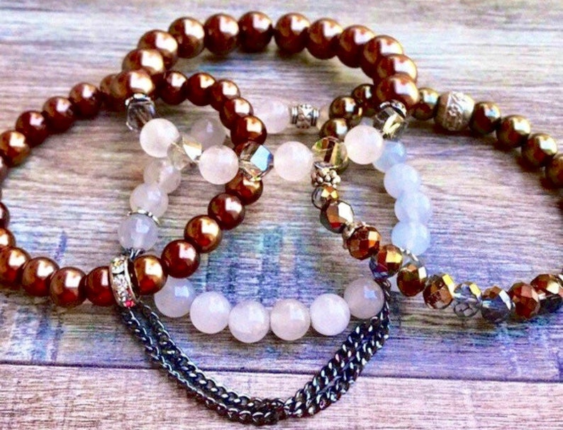 Pearls From the Sea Boho Bracelets