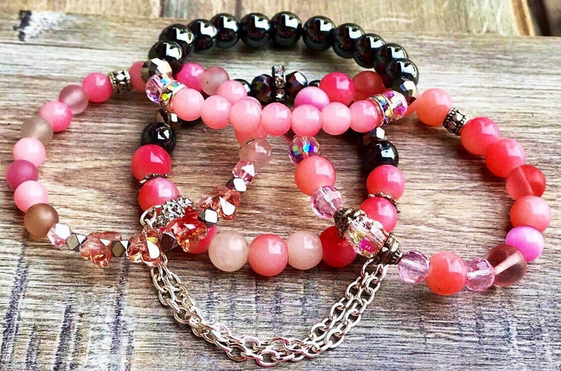 Pink Paradise Boho Bracelets