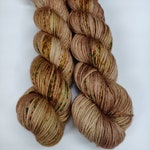 Wake Up and Smell The Coffee, You Fossil - Superwash Merino Wool - Hand Dyed Yarn - Golden Girls inspired colors