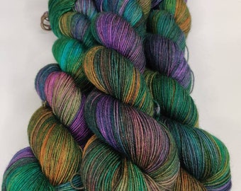 On The Lanai - Hand Dyed Yarn - Golden Girls inspired colors