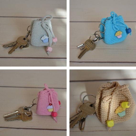 Gehäkelter Rucksack Schlüsselanhänger Häkeln Zubehör Etsy