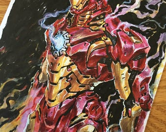 Iron Man - Art Print
