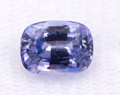 Natural sapphire, cushion-cut and blue color. - Weight: 1.94 ct.