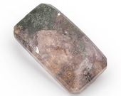 Lodolite quartz fantasy cabochon, weight: 45.35 ct.