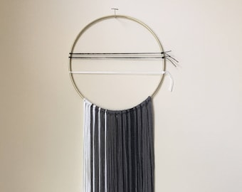 Small Mixed Fiber Modern Wall Hanging - Lindsay Weir