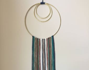 Medium Mixed Fiber Modern Wall Hanging - Alabama Whitman