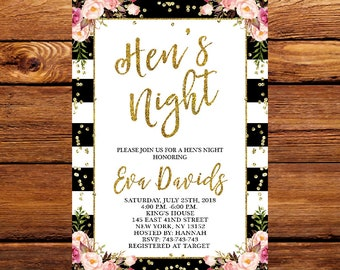 graduation invitation graduation party invites black and etsy