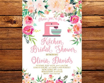 Kitchen shower etsy floral kitchen bridal shower invitationpantry bridal shower invitationcooking theme bridal shower invitebaking shower invitation 047 filmwisefo