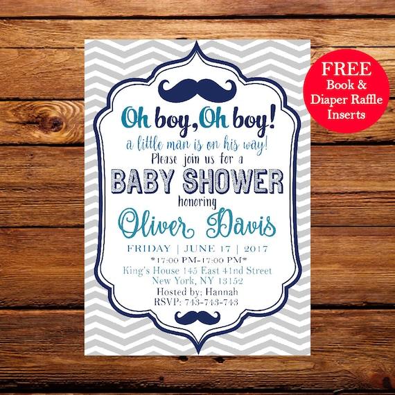 Oh boy baby shower invitation oh boy baby shower oh boy etsy image 0 filmwisefo