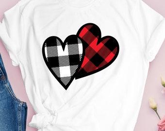 plaid print heart, Valentines Day png, plaid heart png, SVG, DXF, EPS,trending svg,Valentine Svg Designs,Valentine Cut File,cricut svg
