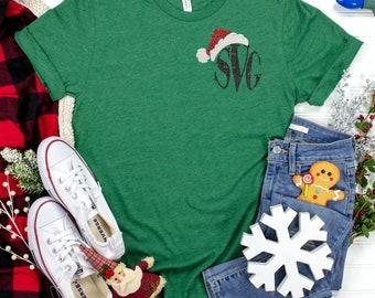Santa Hat svg, Santa hat Monogram svg,Santa Hat svg,Santa Hat Monogram,Christmas,cut files, cricut svg, svg for mobile, mobile svg