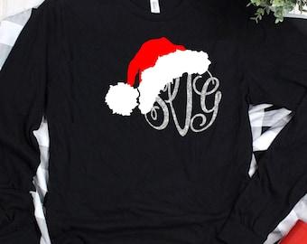 Santa Claus Hat SVG, Christmas Cut File, Santa svg, Kid Shirt Design, Christmas svg design, Christmas cut file, svg for cricut
