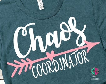 Mothers Day Svg, Chaos Coordinator SVG,Chaos coordinator, mothers day, Mom Svg,Mama Svg,Mothers Day Svg Design, Mothers Day Cut File, cricut