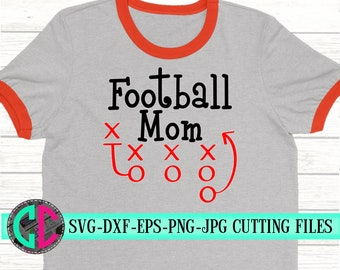 football mom playsheet svg, football svg, football decal, football mom, svg for cricut,Silhouette Dxf, playsheet svg, crafty cuttables svg