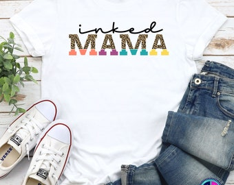 Quote and Sayings Svg, Inked Mama svg, Mama svg, Mama Quote svg, Tattoo Mama svg, Quote & Saying svg designs, Cricut Cut Files, Silhouette