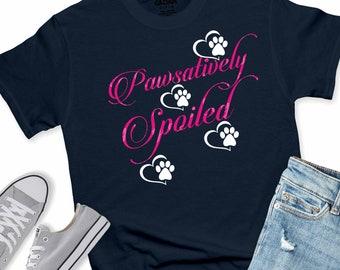 Pawsatively Spoiled svg,Dog Paw svg,Puppy svg,SVG Dog,Tshirt svg,Tshirt decal,Dog Paw svg,cut files, cricut svg, svg for mobile, mobile svg