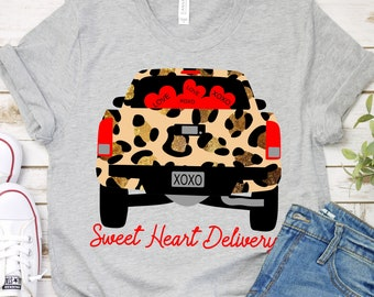 cheetah print svg, sweet heart delivery truck svg, Valentine Svg Designs,Valentine Cut File,cricut svg