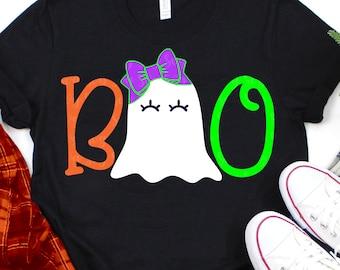 boo ghost svg,ghost svg,halloween svg,boo svg,bow svg, girlie ghost svg,svg for cricut, halloween tshirt svg, ghostly svg,halloween cut file