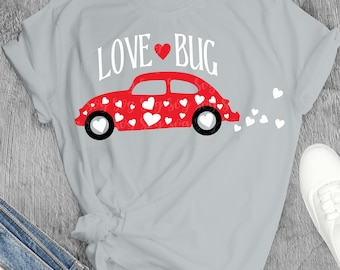 love bug svg, vw svg, volkswagon svg, Valentines Day png, SVG, DXF, EPS,trending svg,File for Cutting Machines Cameo and Cricut,bug svg
