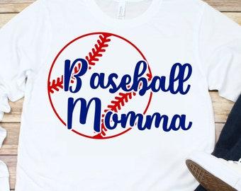Baseball Momma svg,Baseball Mom svg,mom svg,baseball love,laces svg,baseball tshirt,Sports Svg Designs, Sports Cut File, cricut svg