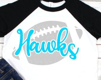 hawks football svg, Football svg, hawks football, hawks, hawks svg, football mom svg, Sports Svg Designs, Sports Cut File, cricut svg