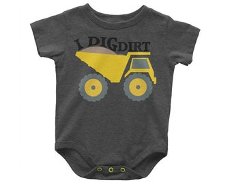 I Dig Dirt,Construction Equipment SVG,Construction trucks,Tonka truck svg,construction,dump truck,Cricut Designs,Silhouette Designs