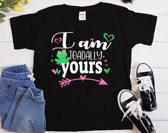i'm toadally yours Svg, kids Valentine Svg, totally yours Svg, Valentines Day Svg, Valentine Svg Designs, Cricut valentines day svg
