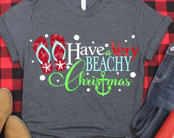 a very beachy christmas svg,beach svg,flip flop svg,Christmas svg,Christmas svg designs, Christmas cut file, svg for cricut,svg for mobile
