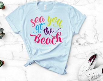 Sea You At The Beach svg,Summer svg,Summer quotes svg, svg beach Shirts,Tshirt svg,summertime svg,Cricut Designs,Silhouette Designs