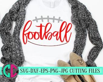 outline football  svg, football cut files, Football svg, dxf, eps, png, Football, svg file, iron on decal, football Mom, svg for cricut