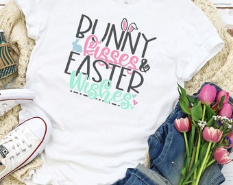 Easter Svg, Bunny kisses Easter wishes svg, Religious svg, Jesus svg, Easter svg design, Easter cut file, Easter cricut svg,  svg for cricut