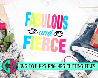 fabulous and fierce svg,beauty svg,saying svg,svg beauty,makeup svg,make up svg,svg for cricut,create svg,beautiful svg,Silhouette clipart