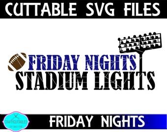 Friday Football Svg Etsy