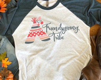 Friendsgiving Tribe SVG,Friendsgiving svg,Thanksgiving Tribe,Thanksgiving svg,Thanksgiving Tshirt svg,Thankful svg,Cricut Designs
