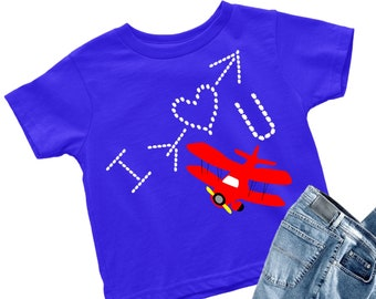 I Love U svg,Plane svg,Valentine svgs,Valentines svg,Valentine Tshirt,Valentine,Little Boy Tshirt svg,Cricut Designs,Silhouette Design