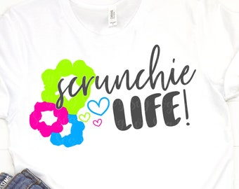 scrunchie life svg, VSCO girl svg, and i oop svg, sksksk svg, DxF, svg, eps, printable, svg, vsco girl shirt, sksk, svg files for cricut