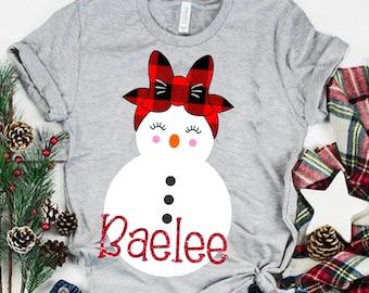 plaid snowman svg, Christmas svg, Snowman svg, girl svg, snowgirl svg, Christmas Svg Design, Christmas Cut Files, cricut svg