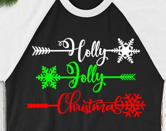 Holly Jolly Arrows svg,Arrow svg,Holly Jolly svg,Christmas Decals, Christmas svgs,Holiday svg,Christmas svg,Cricut Designs,Silhouette Design
