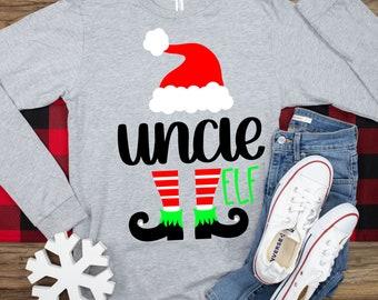uncle elf svg,Christmas elf svg,family matching elf svg,elf leg svg, elf monogram svg,Christmas svg designs,Christmas cut file, cricut svg