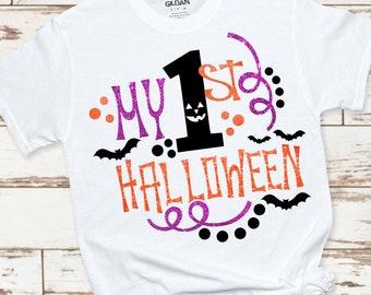 My First Halloween SVG, Halloween svg,First Halloween svgs,Monster svg,Ghost svg,halloween svg file, cricut svg, svg for mobile, mobile svg