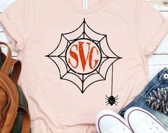 Spiderweb Monogram svg,Halloween monogram svg,Halloween svg,Halloween,Scarecrow Monogram,cut files, cricut svg, svg for mobile, mobile svg