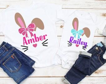 Easter svg, Bunny Monogram Svg, Easter Bunny Svg, Easter Cut File, Bunny face monogram, Easter Svg Designs, Easter Cut File, cricut svg
