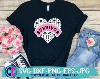 breast cancer svg, Survivor heart svg, breast cancer awareness svg, ribbon svg, cancer svg,cancer ribbon svg, cricut svg, awareness svg