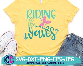 Summer Svg, Riding the waves svg, vacation svg, beach svg, summertime svg, Summer svg design, Summer cut file, Summer cricut