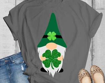 st patttys day gnome svg, lucky gnome svg, St Pattys day svg, leopard print svg,File for Cutting Machines Cameo and Cricut, svg for Cricut
