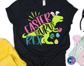 Easter Svg, Easter Dinosaur Svg, Easter Saurus Rex svg, Girl Dinosaur Svg, T-rex Easter dinosaur svg, Easter svg design, Easter cut file
