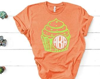 Monogram Cupcake SVG,cupcake monogram, mongram cupcake,Tshirt svg, monogram ideas, cupcakes, cupcake svg,Cricut Designs,Silhouette Designs