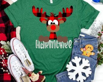 plaid christmas deer svg, plaid deer svg, christmas plaid svg, buffalo deer svg, svg for cricut, Christmas Svg Designs,Christmas Cut Files
