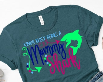 Busy Being A Mommy Shark SVG,Momma Shark tshirt,Mommy Shark,Momma Shark,Shark svgs,Shark Week svg,Cricut Designs,Silhouette Designs